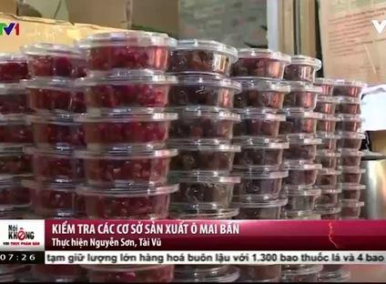 Nói không với thực phẩm bẩn (7h25) - 30/12/2016