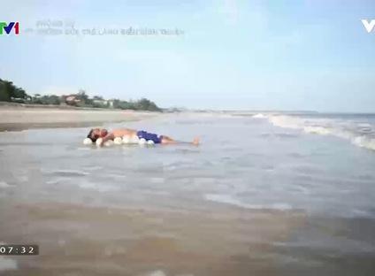 Phóng sự: Những đứa trẻ làng biển Bình Thuận