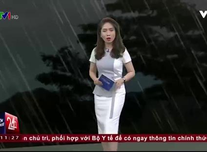 Bản tin thời tiết 11h30 - 23/10/2016