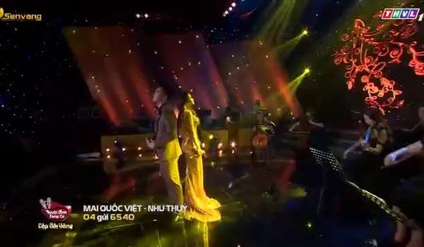 """Chung kết Cặp đôi vàng: Mai Quốc Việt - Như Thùy với ca khúc """"Cỏ úa"""""""