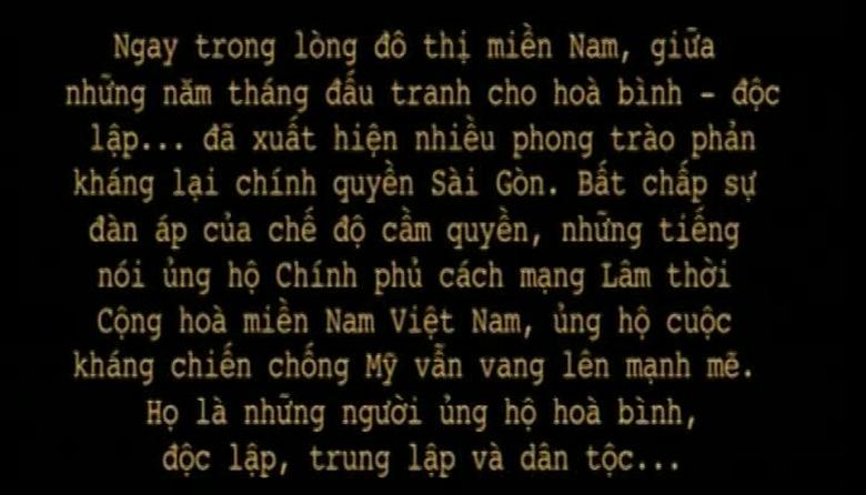 Ký ức Việt Nam: Khát vọng hòa bình