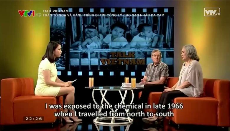Talk VietNam: Trần Tố Nga và hành trình đòi công lý cho các nạn nhân da cam