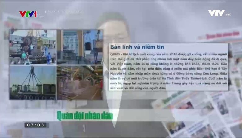 Báo chí toàn cảnh - 08/01/2017