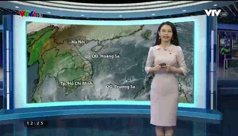 Bản tin thời tiết 12h30 - 17/01/2017