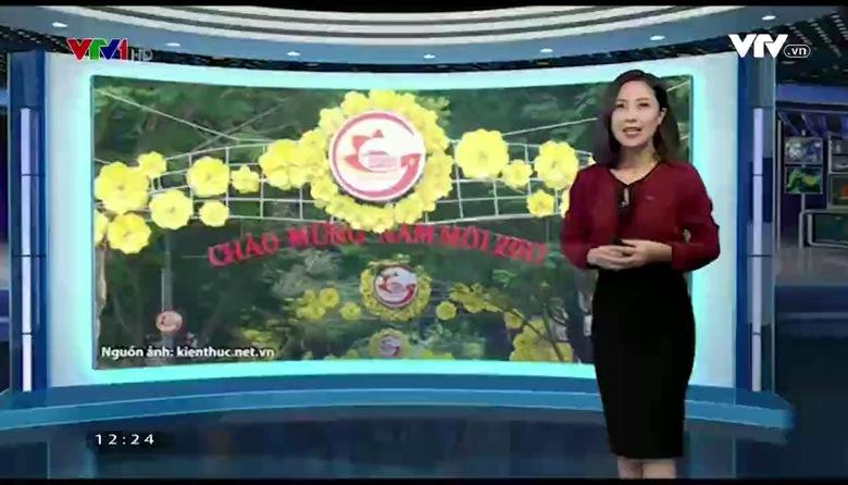 Bản tin thời tiết 12h30 - 18/01/2017