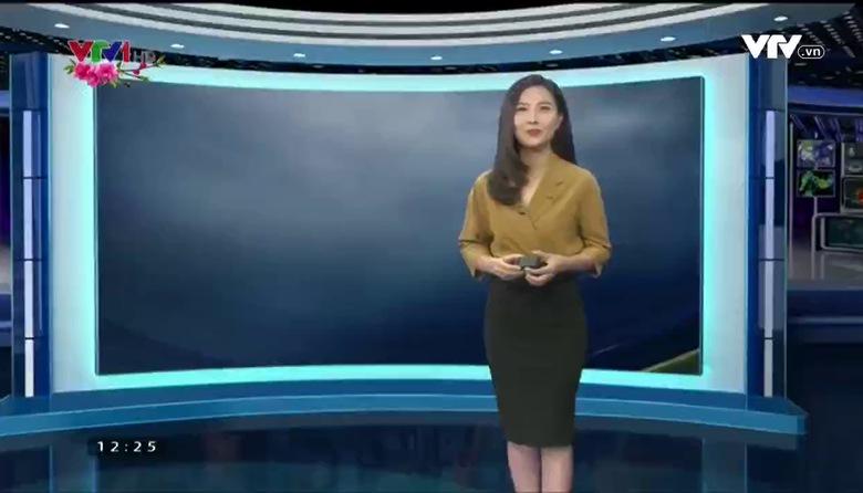 Bản tin thời tiết 12h30 - 23/01/2017