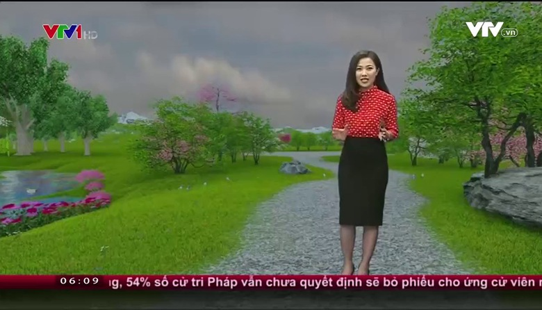 Bản tin thời tiết 6h10 - 21/02/2017