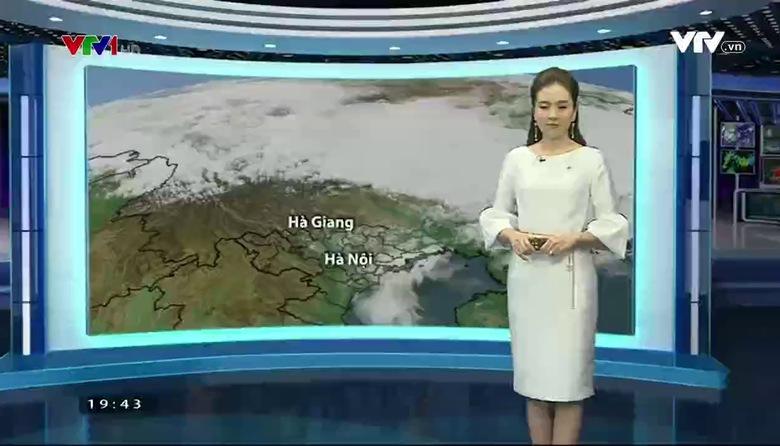 Bản tin thời tiết 19h45 - 22/02/2017