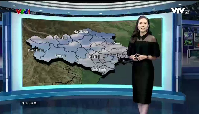Bản tin thời tiết 19h45 - 19/02/2017