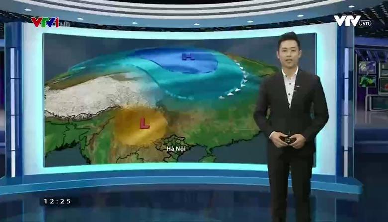 Bản tin thời tiết 12h30 - 22/02/2017