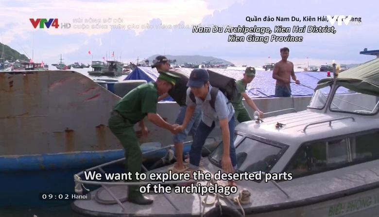 Núi sông bờ cõi: Cuộc sống trên các đảo vắng vùng biển Tây Nam