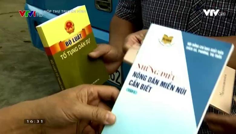 Hộp thư truyền hình: Cải cách tư pháp ở một tỉnh miền núi