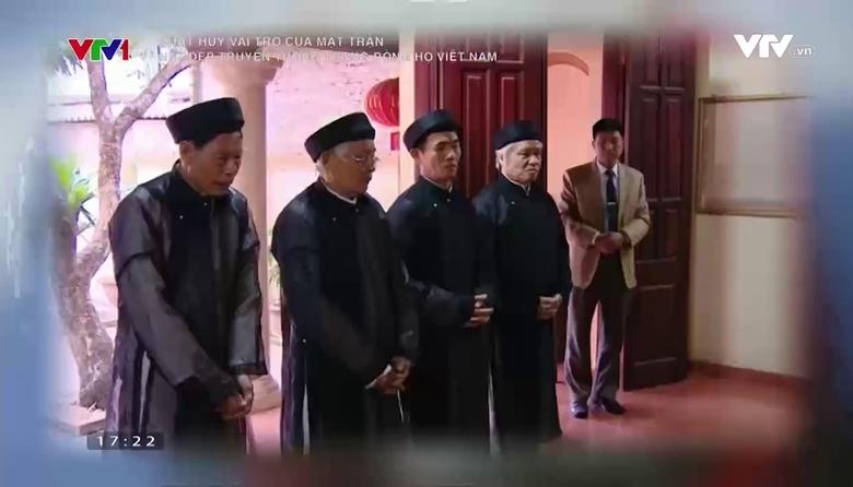 Phát huy vai trò của mặt trận: Nét đẹp truyền thống trong các dòng họ Việt Nam
