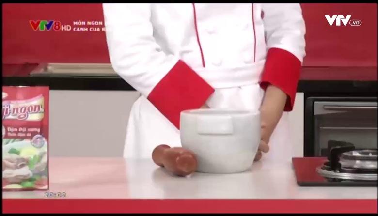 Món ngon mỗi ngày: Canh cua rau nhút