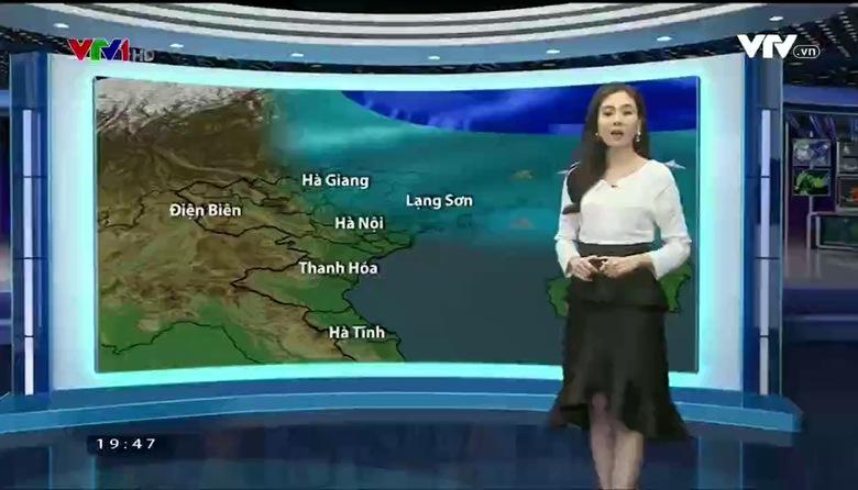 Bản tin thời tiết 19h45 - 23/02/2017
