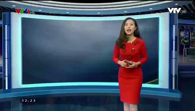 Bản tin thời tiết 12h30 - 25/02/2017