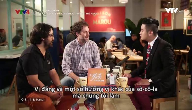 Talk Vietnam: Sô-cô-la Việt tỏa sáng trên thế giới