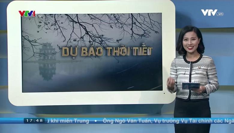 Bản tin thời tiết 18h - 16/01/2017