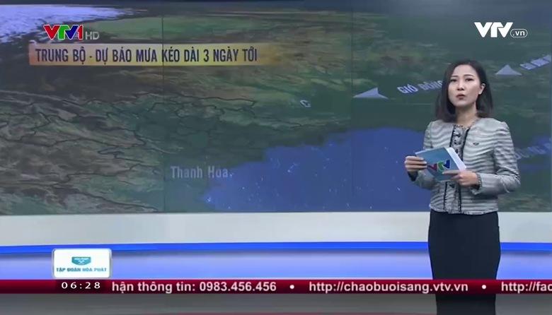 Bản tin thời tiết 6h30 - 20/01/2017