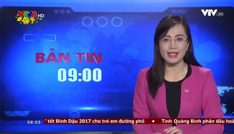 Bản tin 9h - 23/01/2017