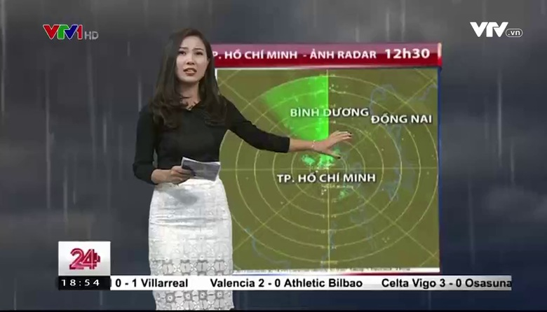 Bản tin thời tiết 18h45 - 20/02/2017