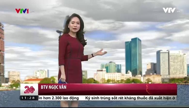 Bản tin thời tiết 11h30 - 26/02/2017
