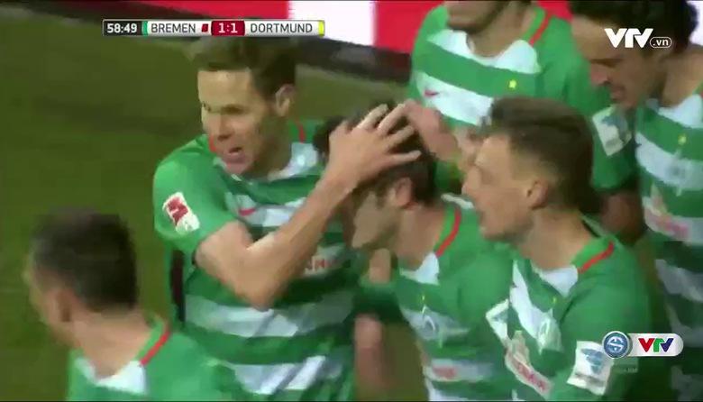 Werder Bremen 1-2 Dortmund (Vòng 17 Bundesliga 2016/17)