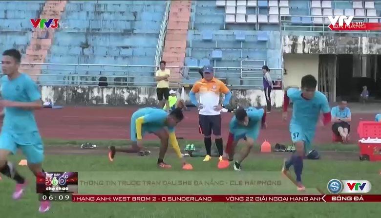 Thông tin trước trận đấu: SHB Đà Nẵng vs Hải Phòng