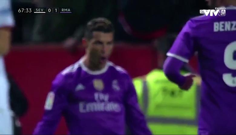 Sevilla 2-1 Real Madrid (Vòng 18 La Liga 2016/17)
